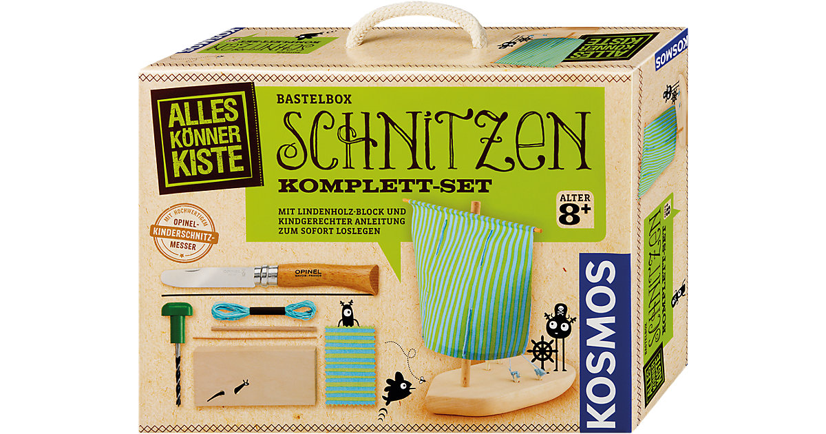 Kosmos · Bastelbox Schnitzen Komplett-Set