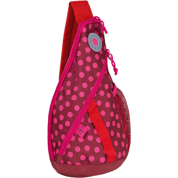 Kindergarten  Rucksack Mini Sling Bag 4kids, Dottie red