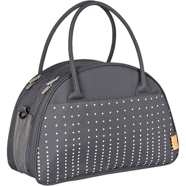 Wickeltasche Casual Shoulder Bag, Dotted lines ebony
