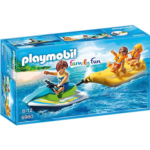 Playmobil 6980 Aqua Scooter Mit Bananenboot Playmobil Family Fun