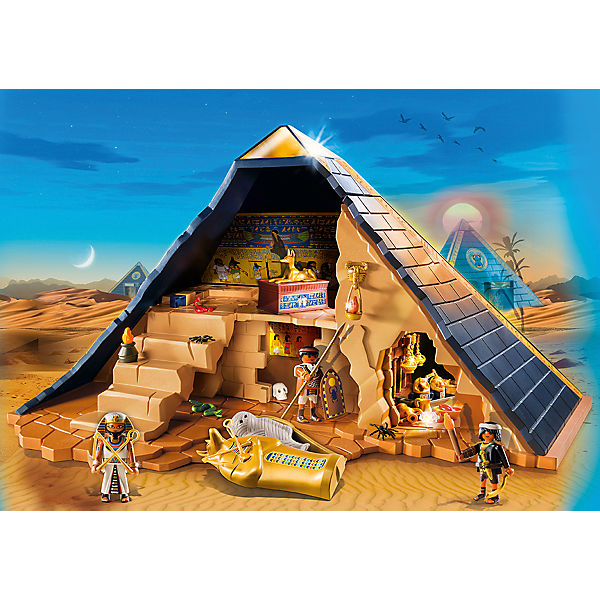 playmobil 5386 pyramide des pharao playmobil history mytoys. Black Bedroom Furniture Sets. Home Design Ideas