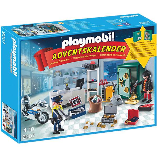 Playmobil adventskalender polizeieinsatz im