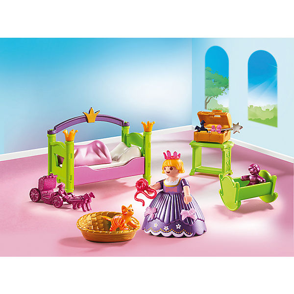 Playmobil 6852 prinzessinnen kinderzimmer playmobil for Kinderzimmer playmobil