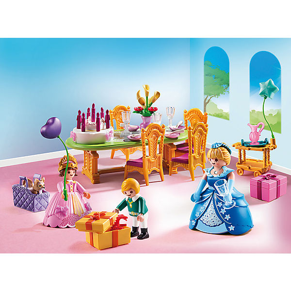 playmobil 6854 geburtstagsfest der prinzessin playmobil princess mytoys. Black Bedroom Furniture Sets. Home Design Ideas