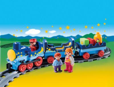 PLAYMOBIL® 6880 1-2-3: Sternchenbahn mit Schienenkreis (Aktionsartikel)