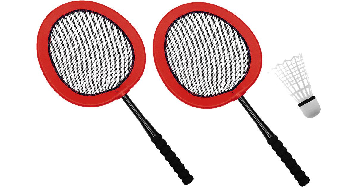 XXL - Mega Badminton Set inkl. 22 cm Ball