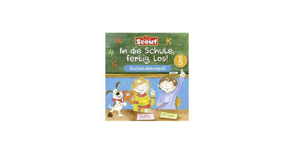 Scout: In die Schule, fertig, los! Buchstabenspaß