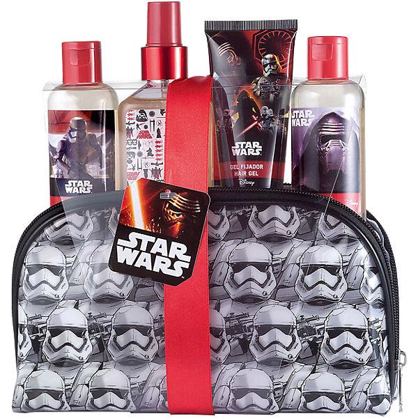 Geschenk Set Star Wars inkl Duschbad, Shampoo und Haargel, Star