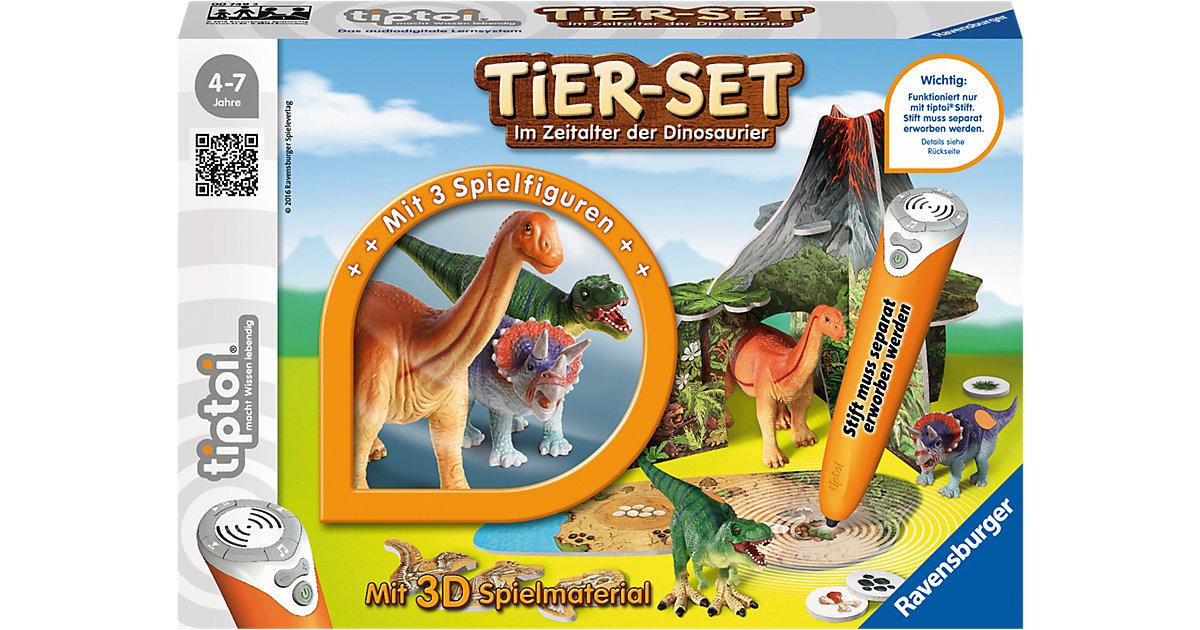 tiptoi® Tier-Set Im Zeitalter der Dinosaurier (ohne Stift)
