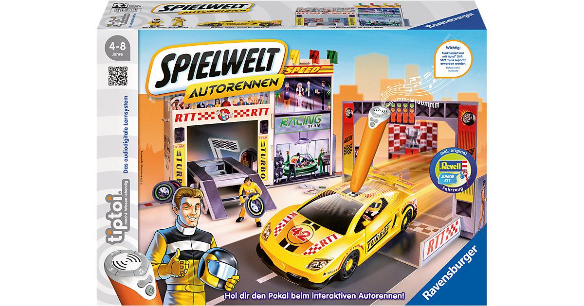tiptoi® Spielwelt Autorennen (ohne tiptoi Stift)
