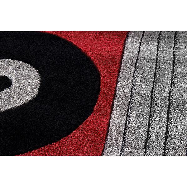 teppich feuerwehrauto 120 x 180 cm happy rugs mytoys. Black Bedroom Furniture Sets. Home Design Ideas