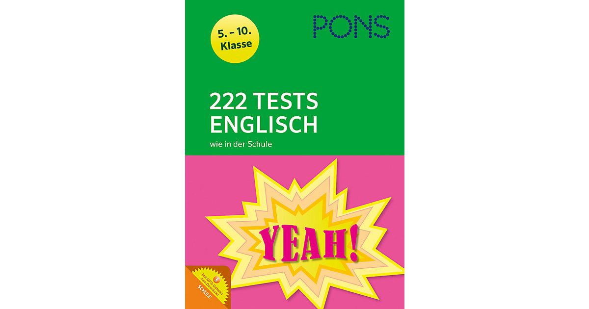 PONS 222 Tests Englisch wie in der Schule