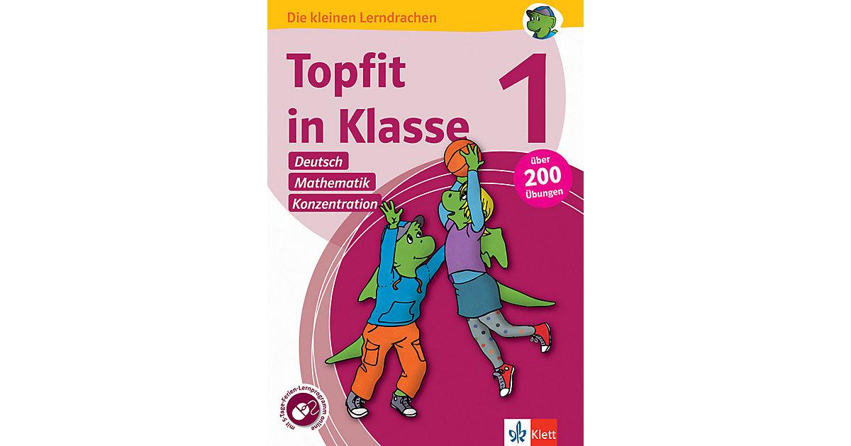 Topfit in Klasse 1, Deutsch - Rechnen - Konzent...
