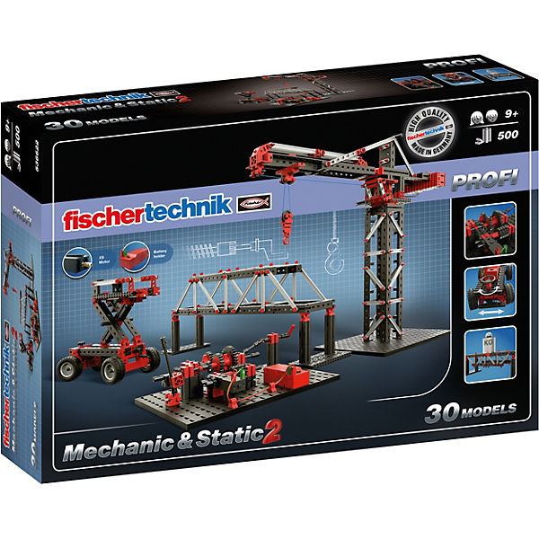 "Fischertechnik PROFI ""Mechanic+Static 2"" - Baukasten, fischertechnik"
