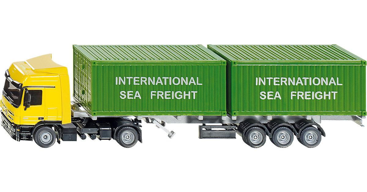 SIKU 3921 LKW mit Container 1:50 | Büro > Büroschränke > Container | SIKU