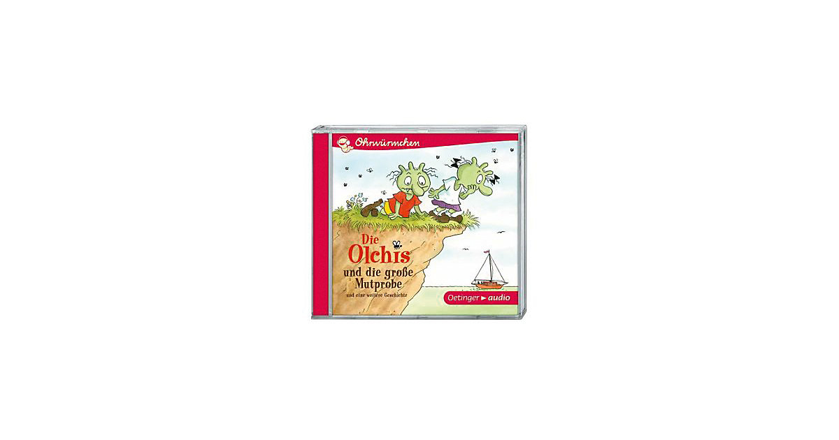 Die Olchis und die grosse Mutprobe, 1 Audio-CD