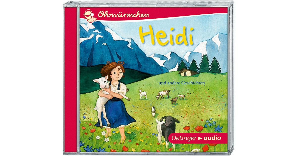 Heidi und andere Geschichten, 1 Audio-CD