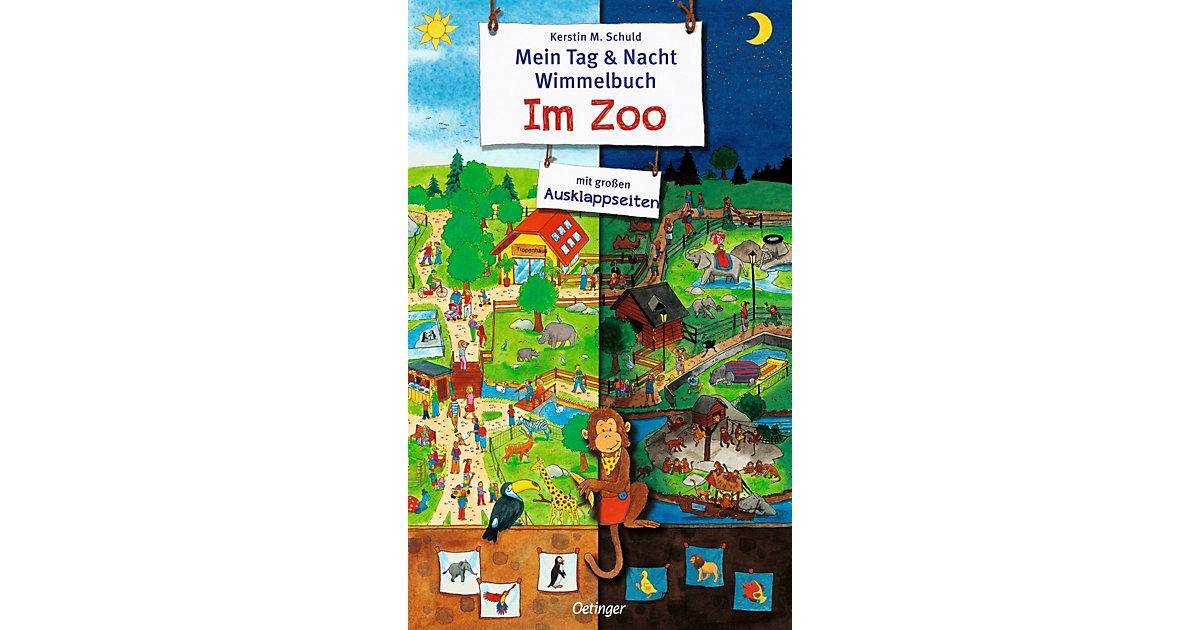 Mein Tag & Nacht Wimmelbuch: Zoo