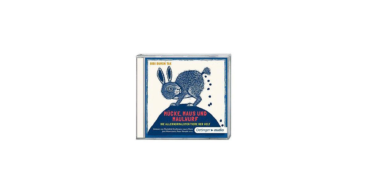Mücke, Maus und Maulwurf, 1 Audio-CD