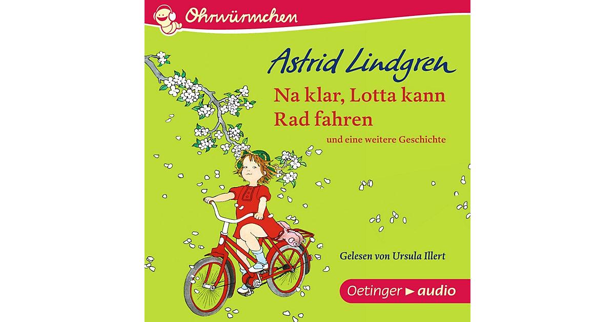 Na klar, Lotta kann Rad fahren, Audio-CD Hörbuch
