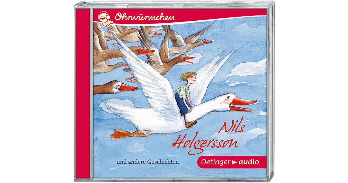 Nils Holgersson und andere Geschichten, 1 Audio-CD