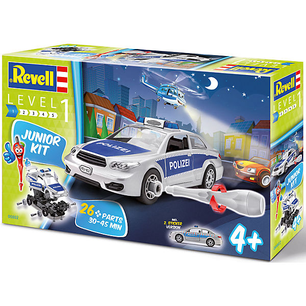 Revell Junior Kit - Polizeiauto