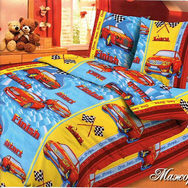 Детское постельное белье 1,5 сп Letto, Ралли