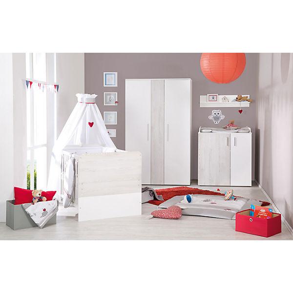 Kinderbett alenja pinie wei 70 x 140 cm roba mytoys for Avignon chambre complete adulte 140 cm