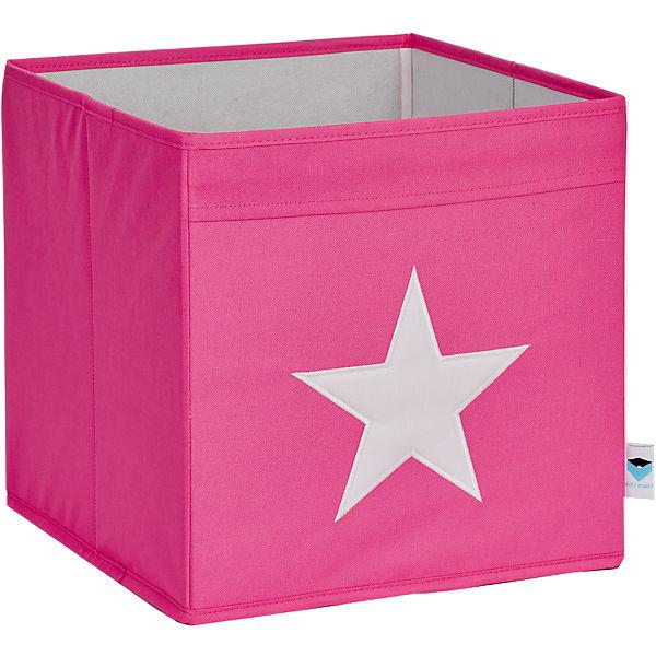 aufbewahrungsbox stern rosa wei store it mytoys. Black Bedroom Furniture Sets. Home Design Ideas