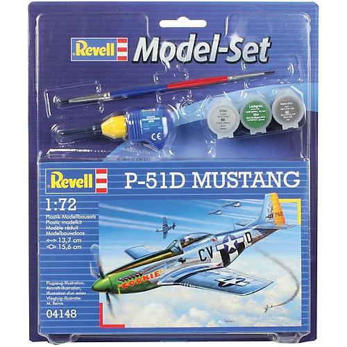 Набор Самолет-истребитель P-51 D Mustang, 2-ая Мировая Война, США от Revell