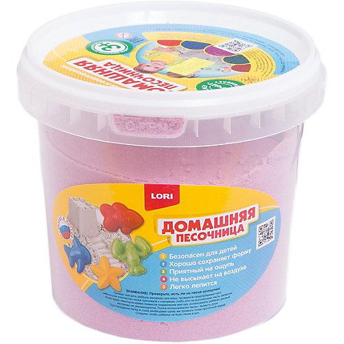 """Домашняя песочница """"Розовый песок"""" 1 кг"""