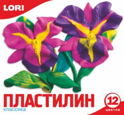 Пластилин, 12 цветов