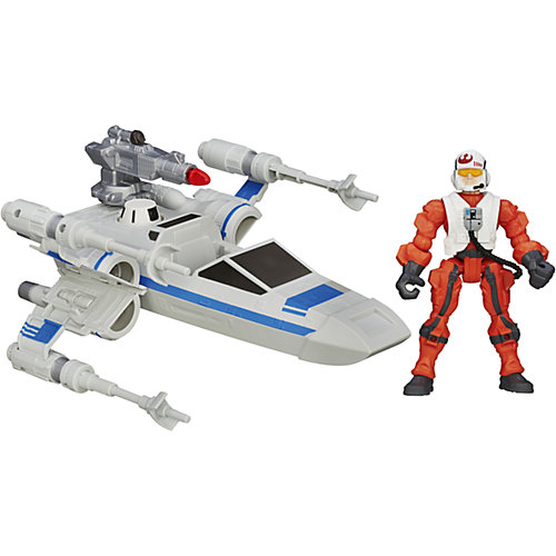 По Дамерон и боевое транспортное средство, Звездные войны от Hasbro