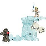 Игровой набор Star Wars Galactic Heroes Приключение в ледяной пещере