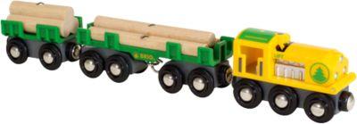 BRIO 33775 Holz-Transportzug