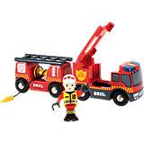 Пожарная машина BRIO ,свет,звук