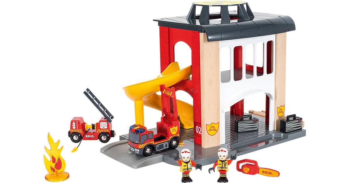 Brio · BRIO® WORLD Große Feuerwehr-Station mit Einsatzfahrzeug 33833