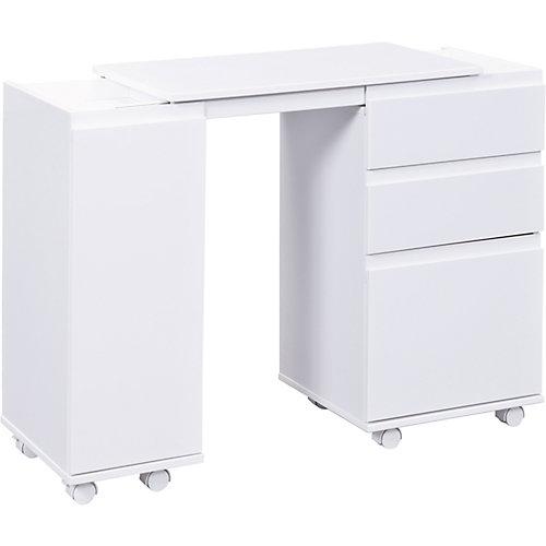 Schreibtisch, Laptop Office, weiss | 04010340209045