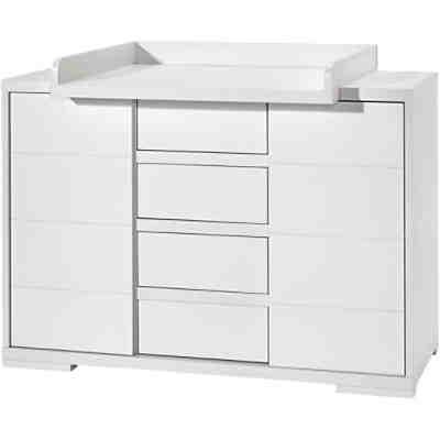 wickelkommode polar breit wei edelmatt pinolino mytoys. Black Bedroom Furniture Sets. Home Design Ideas