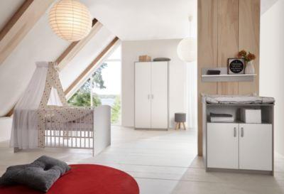 Etagenbett Nico : Sparset classic grey kinderbett 60x120 cm und wickelkommode dekor