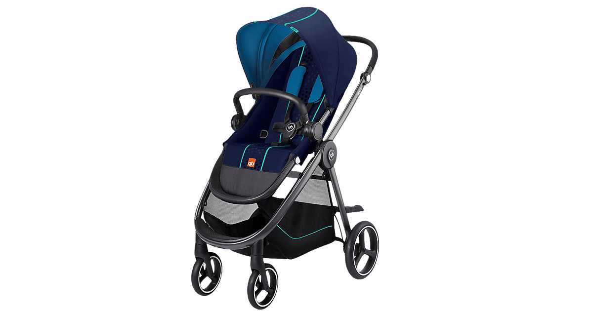 GOODBABY · Sportwagen BELI 4, Sea Port Blue, 2017