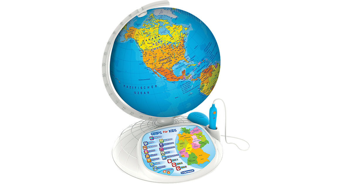 Clementoni · Galileo - Interaktiver Globus (inkl. App)
