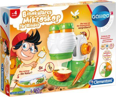 Galileo - Binokulares Mikroskop Kinder Kinder