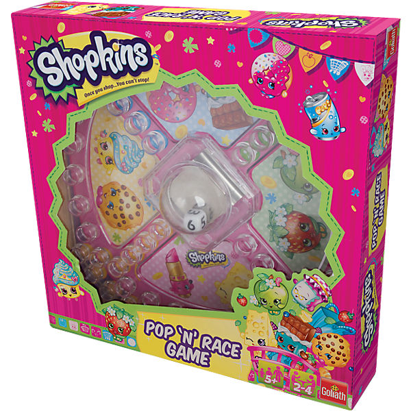 Shopkins Pop 'n' Race Game