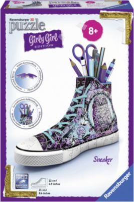 Ravensburger 3D Puzzle Utensilo Pferde Girly Girl Edition Stiftebox Mädchen 54 T Puzzles & Geduldspiele