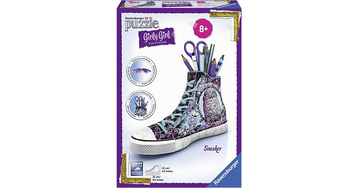 3D Puzzle 108 Teile Sneaker ´´Animal Trend´´