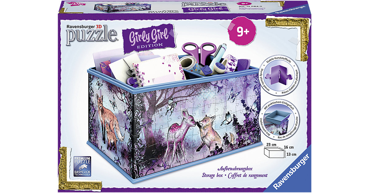 Girly Girl Edition Box Animal Trend