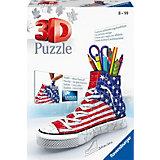 """3D пазл Ravensburger """"Кроссовок: американский стиль"""""""