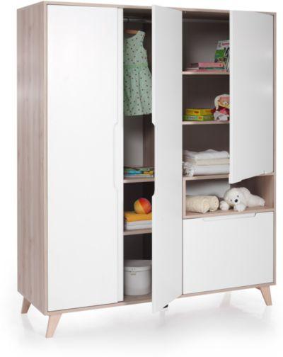 Kinderbett METTE Buche weiß 70 x 140 cm Geuther