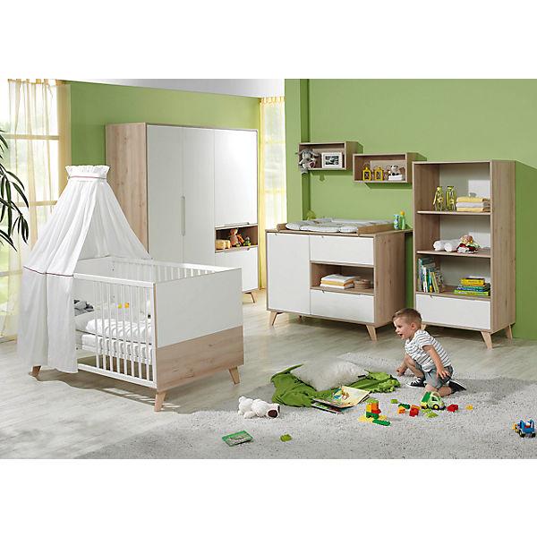 Komplett Kinderzimmer METTE, 3-tlg. (Kinderbett, Wickelkommode und ... | {Kinderzimmer buche 60}